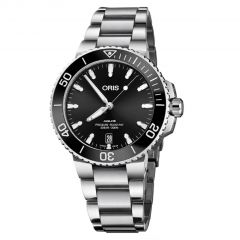 01 733 7732 4134-07 8 21 05PEB   Oris Aquis Date 39.5 mm watch. Buy Online
