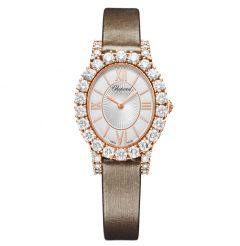 139384-5104 | Chopard L'heure Du Diamant Oval Small 29.4 x 34.2mm watch. Buy Online