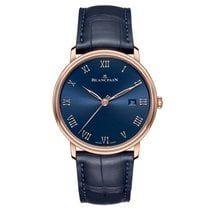 6651-3640-55B   Blancpain Villeret Ultra Slim Automatic 40mm watch. Buy Online