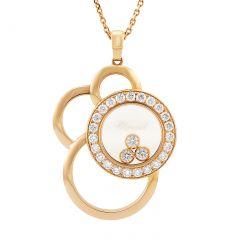 799769-5002 |Buy Online Chopard Happy Dreams Rose Gold Diamond Pendant