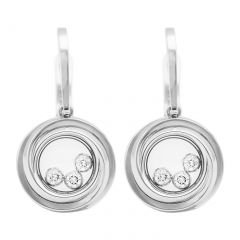 839216-1001 | Buy Chopard Happy Emotions White Gold Diamond Earrings