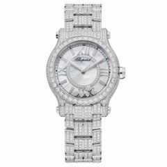 Chopard Happy Sport 30 mm Automatic 274302-1002. Watches of Mayfair