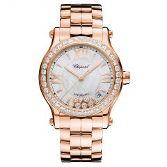 Chopard Happy Sport 36 mm Automatic 274808-5007. Watches of Mayfair