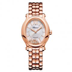 275362-5004 | Chopard Happy Sport Oval 31.31 x 29 mm watch. Buy Online