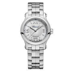 278573-3012   Chopard Happy Sport Steel Automatic Diamond 30mm watch. Buy Online