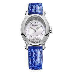 278602-3001 | Chopard Happy Sport Oval 31 x 29 mm watch. Buy Online