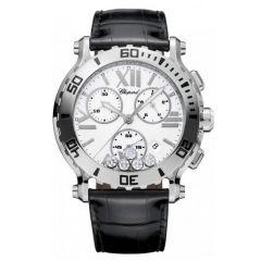 288499-3001   Chopard Happy Sport Chronograph 42 mm watch. Buy Online