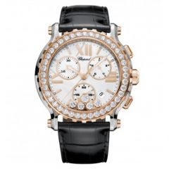 Chopard Happy Sport 42 mm Chrono 288506-6001. Watches of Mayfair