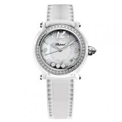 288507-9012   Chopard Happy Sport Ceramic Ladies 36mm watch. Buy Online