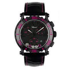 288515-9013   Chopard Happy Sport Chrono Mystery Pink 42 mm watch. Buy Online
