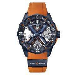 3723-170LE-3A-BLUE/3B   Ulysse Nardin Diver X Skeleton Limited Edition 44mm watch. Buy Online