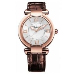 384221-5001 | Chopard IMPERIALE 36mm Rose Gold Mother-of-Pearl Watch