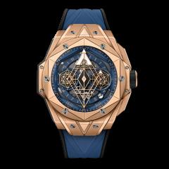 418.OX.5108.RX.MXM20 | Hublot Big Bang Sang Bleu II King Gold Blue 45mm watch. Buy Online
