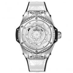 465.SS.2027.VR.1204.MXM19 | Hublot Big Bang One Click Sang Bleu Steel White Diamonds 39 mm watch | Buy Now