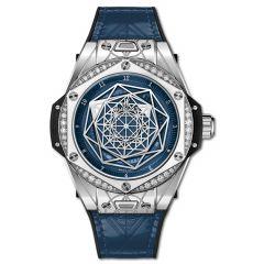 465.SS.7179.VR.1204.MXM19 | Hublot Big Bang One Click Sang Bleu Steel Blue Diamonds 39 mm | Buy Now