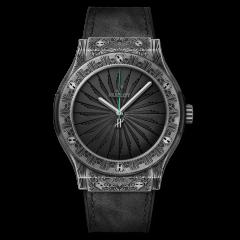 511.NX.1110.VR.PIC19 | Hublot Classic Fusion Titanium Wild Customs Limited Edition 45mm watch.