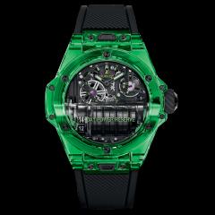911.JG.0129.RX | Hublot Big Bang MP-11 Power Reserve 14 Days Green Saxem 45mm watch. Buy Online