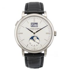 New A. Lange and Sohne 384.026 Saxonia Moon Phase watch