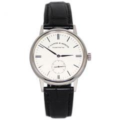 219.026 | A. Lange & Sohne Saxonia White Gold watch. Buy Online