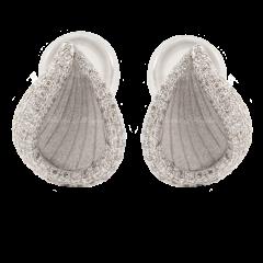 GOR2535   Annamaria Cammilli Rivage Diamonds White Gold Earrings