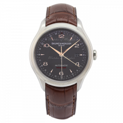 10111 | Baume & Mercier Clifton Stainless Steel 43mm watch