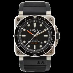 BR0392-D-BL-ST/SRB | Bell & Ross BR 03-92 Diver 42 mm watch. Buy Now