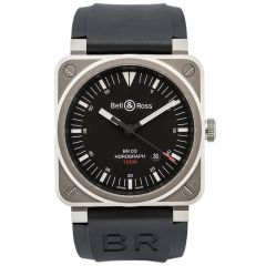 BR0392-HOR-BLC/SRB Bell & Ross Br 03-92 Horograph 42 mm watch. Buy Now