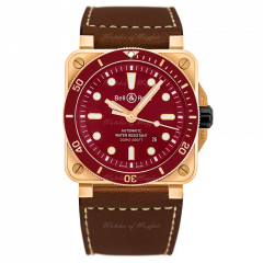 BR0392-D-R-BR/SCA | Bell & Ross Br 03-92 Diver Red Bronze Limited Edition 42mm watch. Buy Online