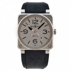 BR0392-GBL-ST/SRB | Bell & Ross Br 03-92 Horoblack 42 mm watch. Buy