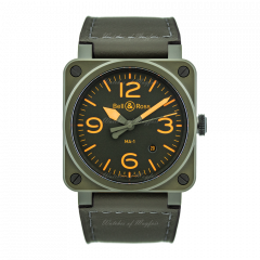 BR0392-KAO-CE/SCA | Bell & Ross Br 03-92 Ma-1 Limited Edition 42mm watch.