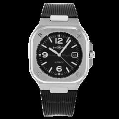 BR05A-BL-ST/SRB | Bell & Ross Br 05 Black Steel 40mm watch. Buy Online