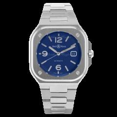 BR05A-BLU-ST/SST | Bell & Ross Br 05 Blue Steel 40mm watch. Buy Online