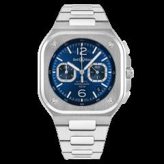 BR05C-BU-ST/SST | Bell & Ross Br 05 Chrono Blue Steel 42 mm watch. Buy Online
