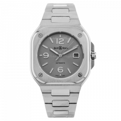 BR05A-GR-ST/SST | Bell & Ross Br 05 Grey Steel 40 mm watch. Buy Online