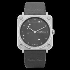 BRS-ERU-ST/SCA | Bell & Ross Br S Grey Diamond Eagle 39mm watch. Buy Now