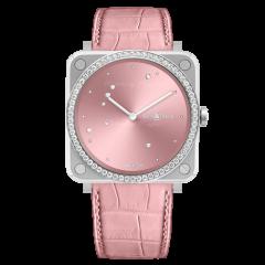 Bell & Ross Br S Pink Diamond Eagle Diamonds 39 mm BRS-EP-ST-LGD/SCR