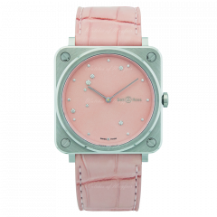 Bell & Ross Br S Pink Diamond Eagle BRS-EP-ST/SCR