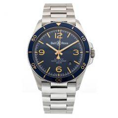 BRV292-BU-G-ST/SST | Bell & Ross Br V2-92 Aeronavale 41 mm watch. Buy Now