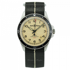 BBRV292-BEI-ST/SF | Bell & Ross Br V2-92 Military Beige 41 mm watch | Buy Now