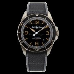BRV292-HER-ST/SRB | Bell & Ross Br V2-92 Steel Heritage 41 mm watch.