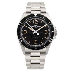 BRV292-HER-ST/SST | Bell & Ross Br V2-92 Steel Heritage 41 mm watch.
