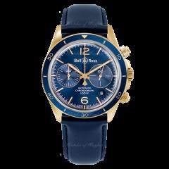 BRV294-BLU-BR/SCA | Bell & Ross Br V2-94 Aeronavale Bronze 41mm watch. Buy Online