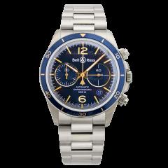 BRV294-BU-G-ST/SST | Bell & Ross Br V2-94 Aeronavale 41 mm watch. Buy