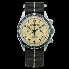 BRV294-BEI-ST/SF | Bell & Ross Br V2-94 Military Beige 41 mm watch | Buy Now
