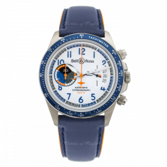 BRV294-BB-ST/SCA | Bell & Ross Br V2-94 Racing Bird 41 mm watch. Buy Now