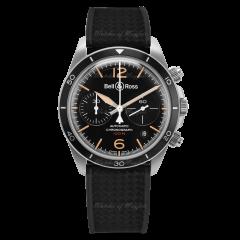 BRV294-HER-ST/SRB | Bell & Ross Br V2-94 Steel Heritage 41 mm watch.