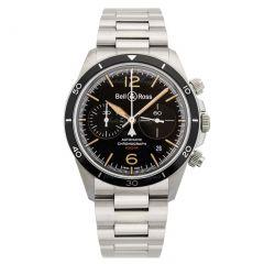 BRV294-HER-ST/SST | Bell & Ross Br V2-94 Steel Heritage 41 mm watch.