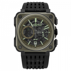 Bell & Ross BR-X1 Military Chronograph 45 mm BRX1-CE-TI-MIL