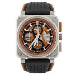 BR0394-SC-ORA/SCA Bell & Ross Br 03-94 Aéro GT Orange 42 mm watch.