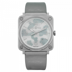 BRS-CAMO-ST | Bell & Ross BR S Grey Camouflage 39 mm watch. Buy Now